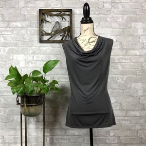 WORTHINGTON Cowl Neck Sleeveless Blouse